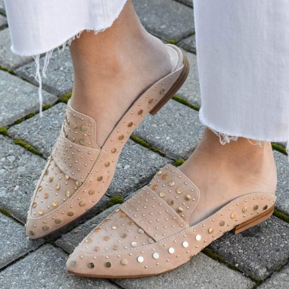 54c45caa82 Chinese Laundry Shoes - Kristin Cavallari Suede Tigers Eye Charlie Mule